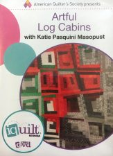 Artful Log Cabins DVD Katiepm